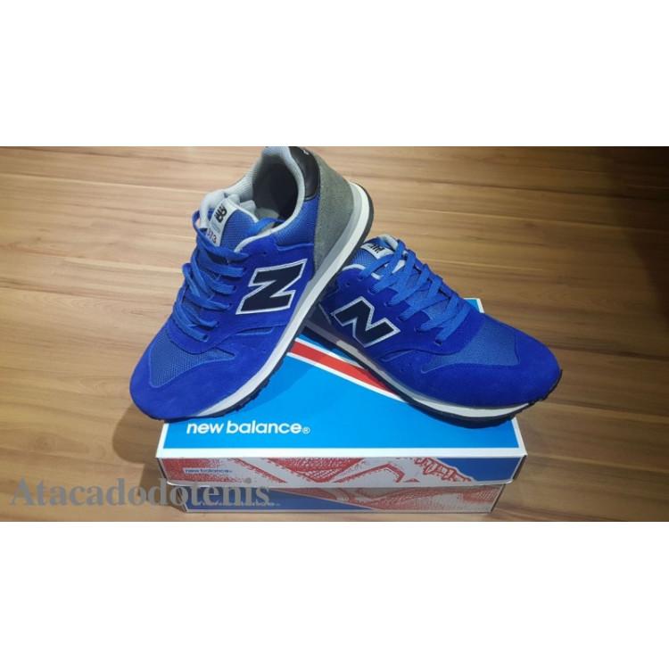 New Balance 574 Azul Bic